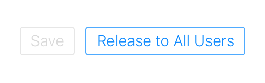 Release to all Users button